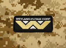 Aliens WEYLAND YUTANI Corporation Patch VELCRO® Brand Fastener Backing