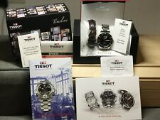TISSOT PRS 516 Automatik Herren Uhr Edelstahl FULL SET + Zusatz Lederband [Top]