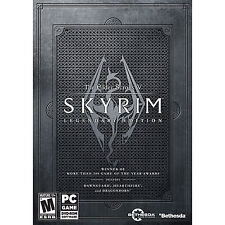 The elder scrolls v skyrim Legendary Edition PC DVD ROM Games New Sealed