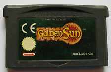 Game Boy Advance-Golden Sun-Seulement Module-D' OCCASION