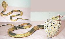 Cobra Replica - Asian Cobra Rubber Snake