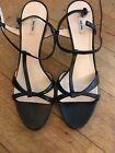 Miu Miu black strappy sandals