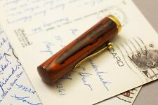 Waterman 55 Wood Grain cap Gold Filled Trim