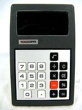 RARE 70´s Vintage Calculator calculatrice 1000 pr working condition