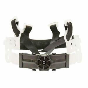 sUw Mens 4-Point Safety Helmet Ratchet-Adjustable Harness Clear Regular