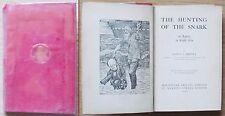 CARROL_THE HUNTING OF THE SNARK_Ed. MacMillan, I ed. 1910_ill. HOLIDAY* RARO !!