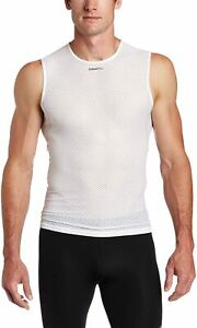 NEW men's CRAFT cool mesh superlight sleeveless cycling baselayer | small