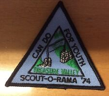 SCOUT-O-RAMA 1974 TREASURE VALLEY CAN DO FOR YOUTH