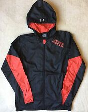 UNDER ARMOUR Jacket Cold Gear Loose Lightweight Windbreaker Rain Coat Hooded
