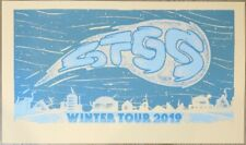 2019 Sts9 - Winter Tour Silkscreen Concert Poster by Andy Vastagh