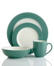 Noritake Colorwave Turquoise 4-Piece Place Setting NEW IN THE BOX