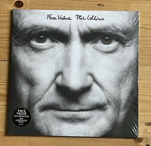 Phil Collins | Face Value Vinyl | Remastered 180 Gram Vinyl | New Not Sealed