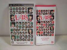 PlayStation Portable -- AKB1/48 Idol to Koishitara -- First. JAPAN GAME. 56982