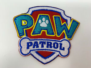 Paw Patrol Themed Kids Embroidered Iron On/ Sew On Patches Badges