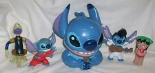 Disney Lilo & STITCH LOT Lidded Covered MUG CUP ELVIS Alien McDonald's Play-Doh