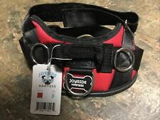 New listing Joyride Red & Black Dog Harness, Small, Dogs 10-19 Pounds, Safety Reflective