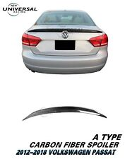 Carbon Fiber Trunk Spoiler for 2012-2018 VW Volkswagen Passat Sedan 4dr Type A