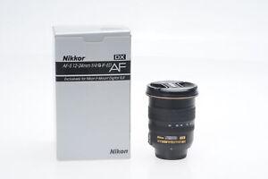Nikon Nikkor AF-S 12-24mm f4 G ED DX IF ASPH Lens AFS #639