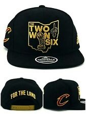 904b0883405 Size  One Size. Cleveland Cavaliers New Adidas The Two One Six Trophy Black  Era Snapback Hat Cap