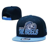 North Carolina Tar Heels NCAA 9FIFTY New Era Snapback navy/sky blue HAT, New.