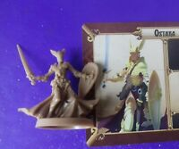 Ostara massive darkness boardgame spare part figure & card warrior priest