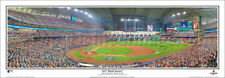 Houston Astros WORLD SERIES 2017 FIRST PITCH GAME 3 Panoramic POSTER Print