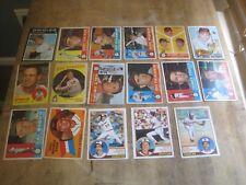 Vintage Baltimore Orioles Baseball Card Lot