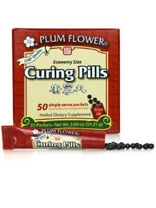 Plum Flower, Curing Formula, Kang Ning Wan, Economy Size, 50 packets