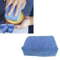 8x Microfiber Wax Sealant Chemical Applicator Wax Pad Sponge Car-Polish