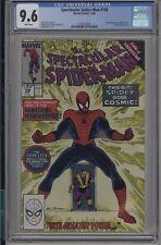 Spectacular Spider-Man #158 CGC 9.6 NM+ 1st Cosmic Spider-man marvel 1989