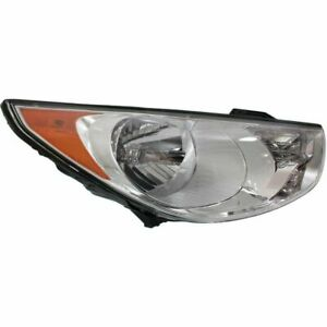 Passenger Side Right RH Headlamp Assembly fits 2010 2013 Hyundai Tucson