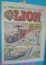 LION COMIC 13TH MARCH1965 1960S A CLASSIC GROUNDBREAKING UK COMIC