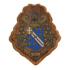 "Alpha Phi Omega Raised Wood Crest 3.5"" Paddle Accessory APO"