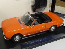 1/18 Norev Peugeot 504 Cabriolet 1970 orange 184826