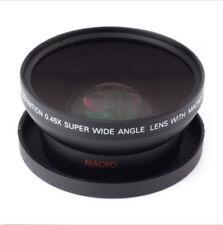 58mm 0.45x Ampio Angolo Visivo & MACRO conversione obiettivo per Canon EOS 650D