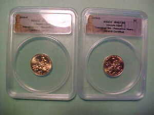 2009 P & D  Lincoln Cents Formative Years *ANACS MS67 RED* Total - 2 Coins