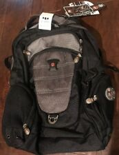 """SwissGear 15.6"""" Computer backpack Organizer Many pockets compartments Black/Gray"""