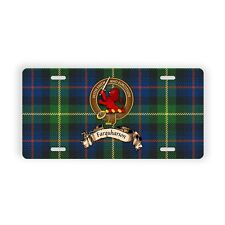 Farquharson Scottish Clan Novelty Auto Plate Tag Family Name License Plate