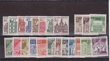 DEUTSCHE BUNDESPOST GERMANY MNH SET GERMAN ARCHITECTURE 1964-69 SG 1359-1381