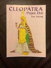 Rare Vintage Uncut Cleopatra Fashion Paper Doll Set (Tom Tierney)