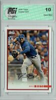 David Bote 2018 Topps Rookie Review #14 1435 Made Rookie Card PGI 10