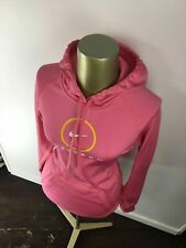"NIKE Therma-Fit ""LIVESTRONG"" Graphic Pink Hoodie Sweatshirt Women's Size XS"