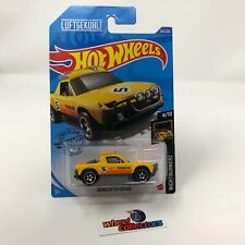 Porsche 914 Safari #242 * Yellow * 2020 Hot Wheels Case P * WD2