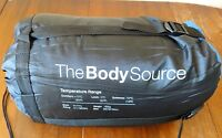 The Body Source Mummy Sleeping Bag (300GSM for 15F) for Camping  NEW