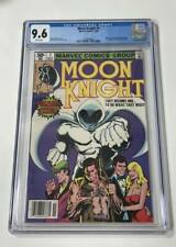 Moon Knight #1 CGC 9.6 Newsstand White Pages First Bushman