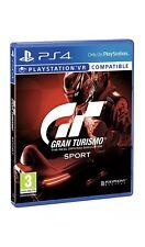 Gran Turismo Sport Sony PS4 Playstation 4 Nuovo Sigillato