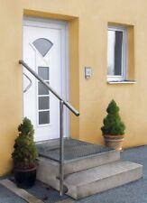 GE3 Edelstahl Geländerset für Eingang (seitliche Montage)  Treppen Geländer