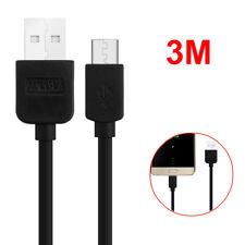 3M Exra Long Micro USB Kabel Ladekabel USB Datenkabel Sync Kabel Handy Tablet DE