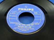 PETERS AND LEE - Welcome Home - 1973 VG+ CANADA PRESSING