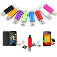 OTG 8GB Micro USB 2.0 Flash Pen Drive Memory U Disk for Smart phone Tablet UK